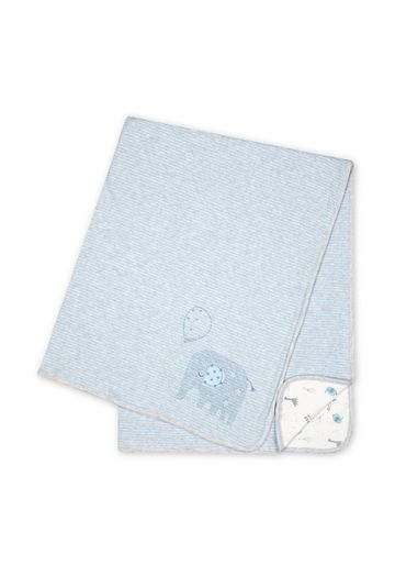 Mothercare | Boys Embroidered Shawl - Blue