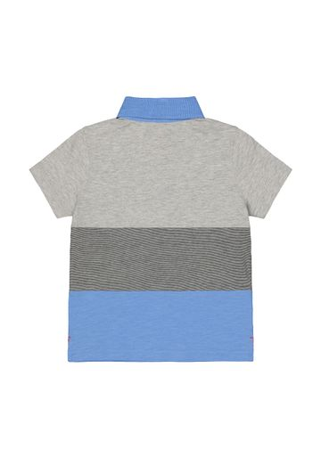 Mothercare | Grey and Blue Polo Shirt