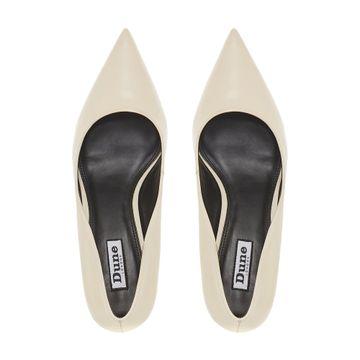 Dune London   Cream Block Heels