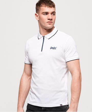 Superdry | CITY SPORT ZIP POLO SHIRT