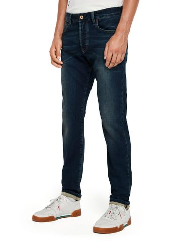 Scotch & Soda | Blue Solid Jeans