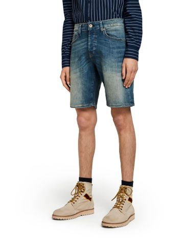 Scotch & Soda | Blue Solid Casual Shorts