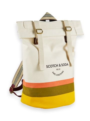 Scotch & Soda | Canvas backpack with placement