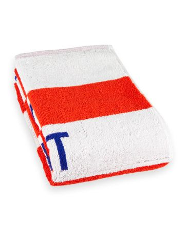 Scotch & Soda | White and Red Striped Towel