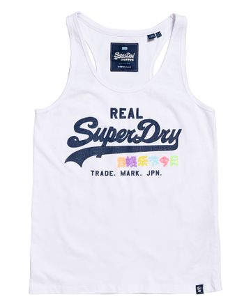 Superdry | VINTAGE LOGO SEQUIN POP ENTRY VEST