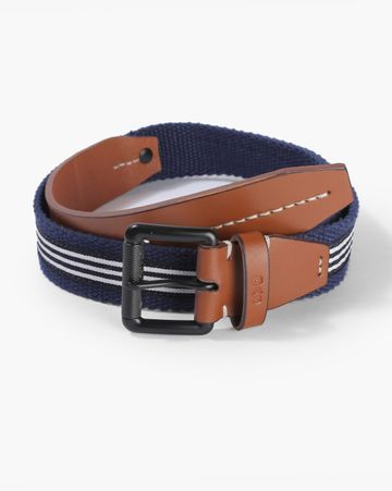 GAS | Men's Hari Blue Solid Belt