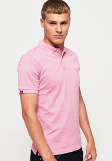 Superdry | Superdry Pink Men Polos