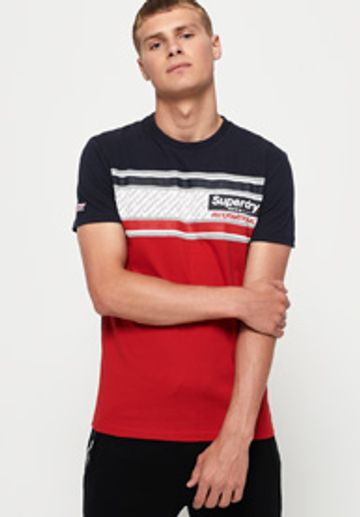 Superdry | RETRO STRIPE TEE PRINTED