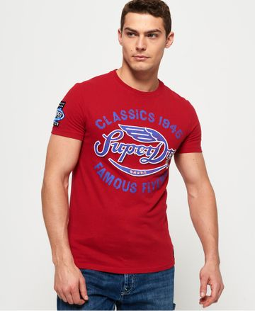 Superdry | FAMOUS FLYERS TEE PRINTED