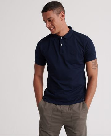 Superdry | Superdry Midnight Navy Polo T-Shirt