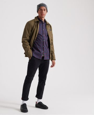 Superdry   Superdry Red Check Casual Shirt