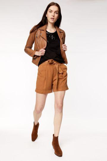 GAS | Women's Jsabela Brown Solid Short