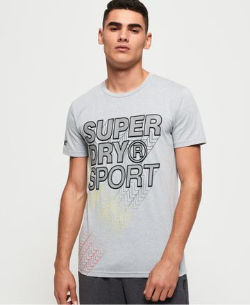 Superdry | CORE GRADIENT GRAPHIC SHORT SLEEVES TEE