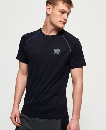 Superdry | ACTIVE LOOSE CAMO JACQUARD TEE