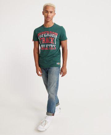 Superdry   Superdry Buck Green Marl T-Shirt