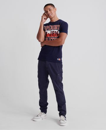 Superdry   Superdry Rich Navy T-Shirt