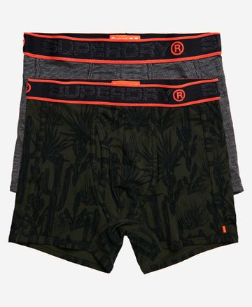 Superdry | SUPERDRY SPORT BOXER DOUBLE PACK