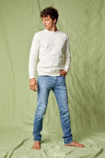 GAS | Men's Albert Simple Slim Fit Blue Jeans