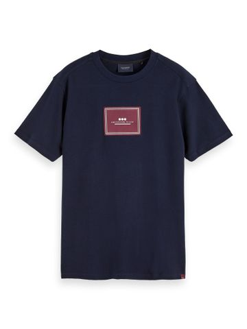 Scotch & Soda | Crew neck tee with artwork label