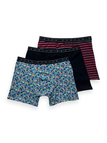 Scotch & Soda | Multicoloured Printed Trunks - Pack of 3