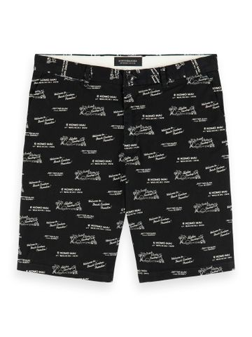 Scotch & Soda | All-over printed short in pima cotton quality