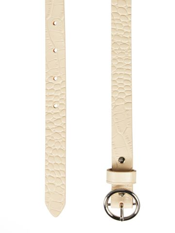Scotch & Soda | Leather belt with croc-effect,
