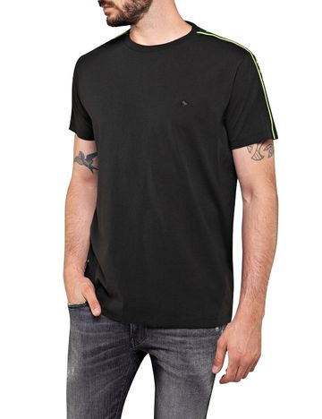 REPLAY | Blackboard open end hand dry jersey T Shirt