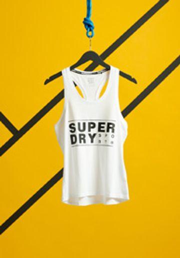 Superdry | CORE SPORT GRAPHIC VEST