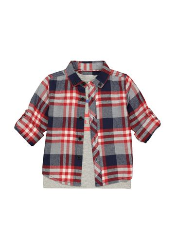 Mothercare   Boys Full Sleeves Casual Shirts  - Pack Of 2 - Multicolor
