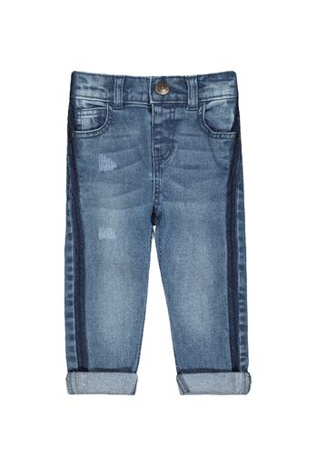 Mothercare | Boys Side stripe Jeans - Blue