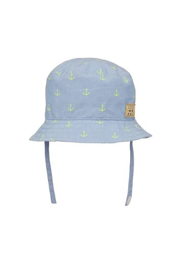 Mothercare   Boys Anchor Print Hat - Pack Of 1 - Blue
