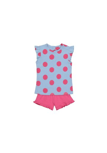 Mothercare | Girls Half Sleeves Shorts Sets  - Pack Of 2 - Multicolor