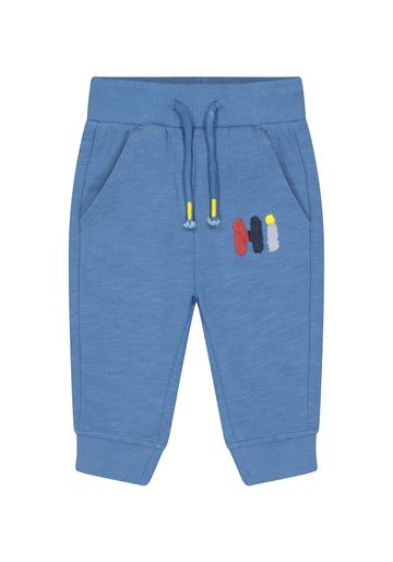 "Mothercare | Boys Jogger ""Hi"" Patchwork - Blue"