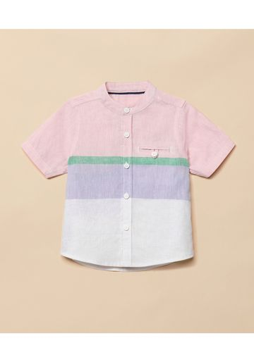 Mothercare | Boys Half Sleeves Casual Shirts  - Multicolor