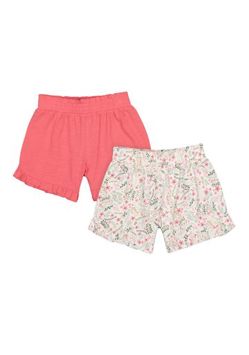 Mothercare | Girls Shorts - Pack Of 2 - Multicolor
