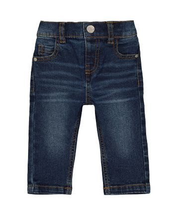 Mothercare   Boys Jeans Dark Wash - Blue