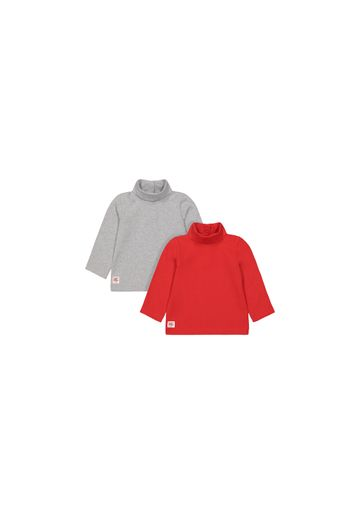 Mothercare | Boys Full Sleeves High Neck T-shirts  - Pack Of 2 - Multicolor