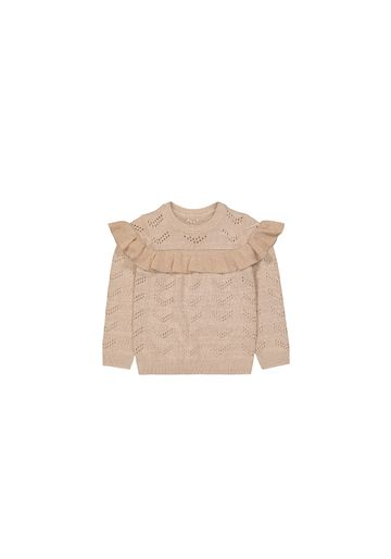 Mothercare   Girls Full Sleeves Sweaters  - Cream