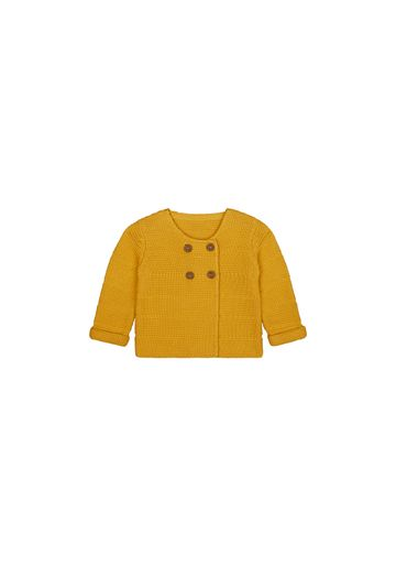 Mothercare   Girls Full Sleeves Sweaters  - Yellow