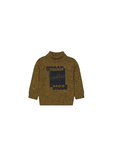 Mothercare   Boys Full Sleeves Sweaters  - Mustard
