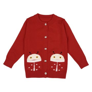 Mothercare | Girls Full sleeves Sweater - Red