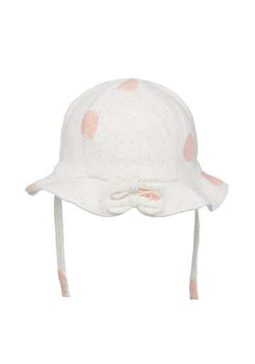 Mothercare | Girls Hat Bow Details - White