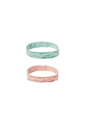 Mothercare   Girls Headband Floral Print - Pack Of 2 - Multicolor