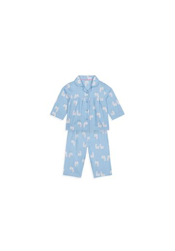 Mothercare   Girls Full Sleeves Pyjama Set Printed - Blue