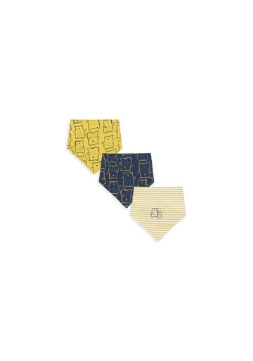 Mothercare   Boys Bibs Bear Print - Pack Of 3 - Multicolor