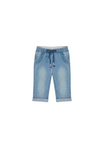 Mothercare | Girls Jeans Embroidered - Blue