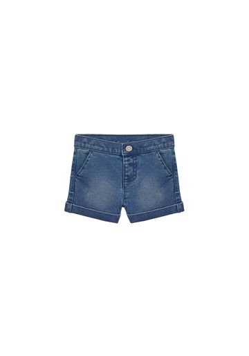 Mothercare | Girls Denim Shorts With Side Pockets - Blue