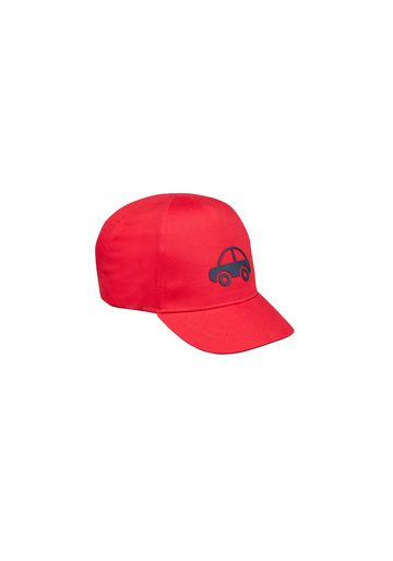 Mothercare | Boys Cap Car Textured Print - Red