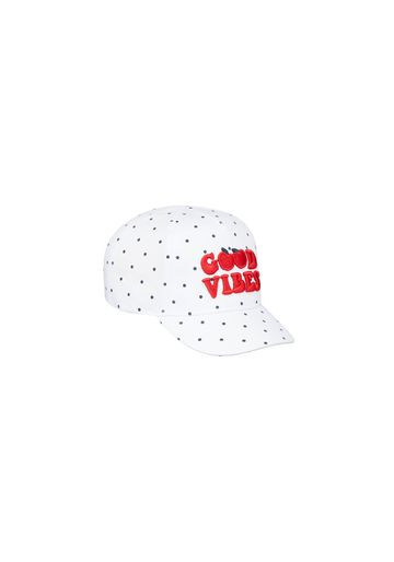 Mothercare | Girls Cap Embroidered - White