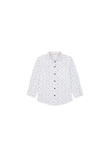 Mothercare | Boys Full Sleeves Shirt Printed - White